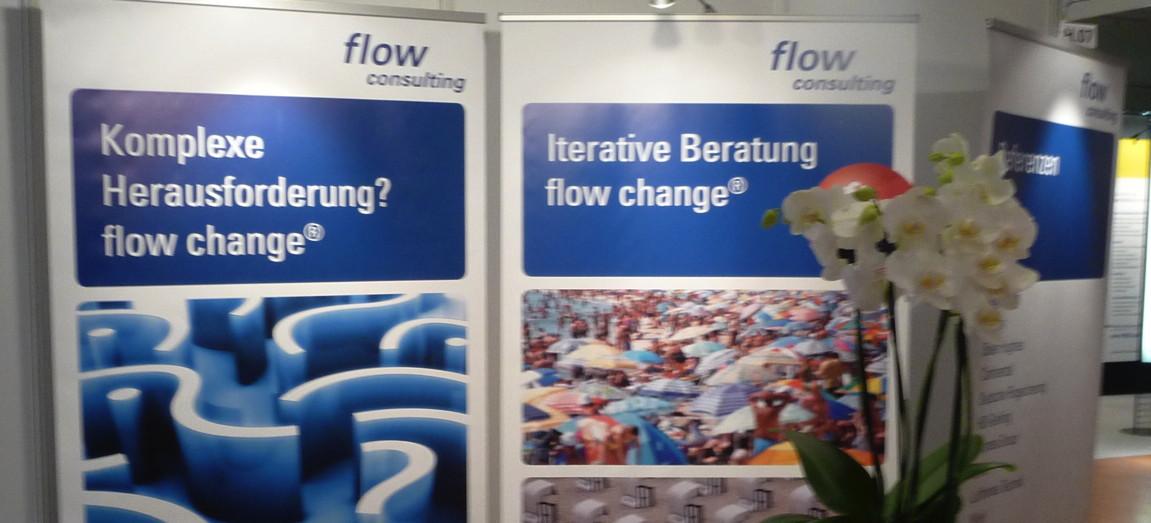 Der Stand der flow consulting gmbh auf der Messe Personal Nord 2013