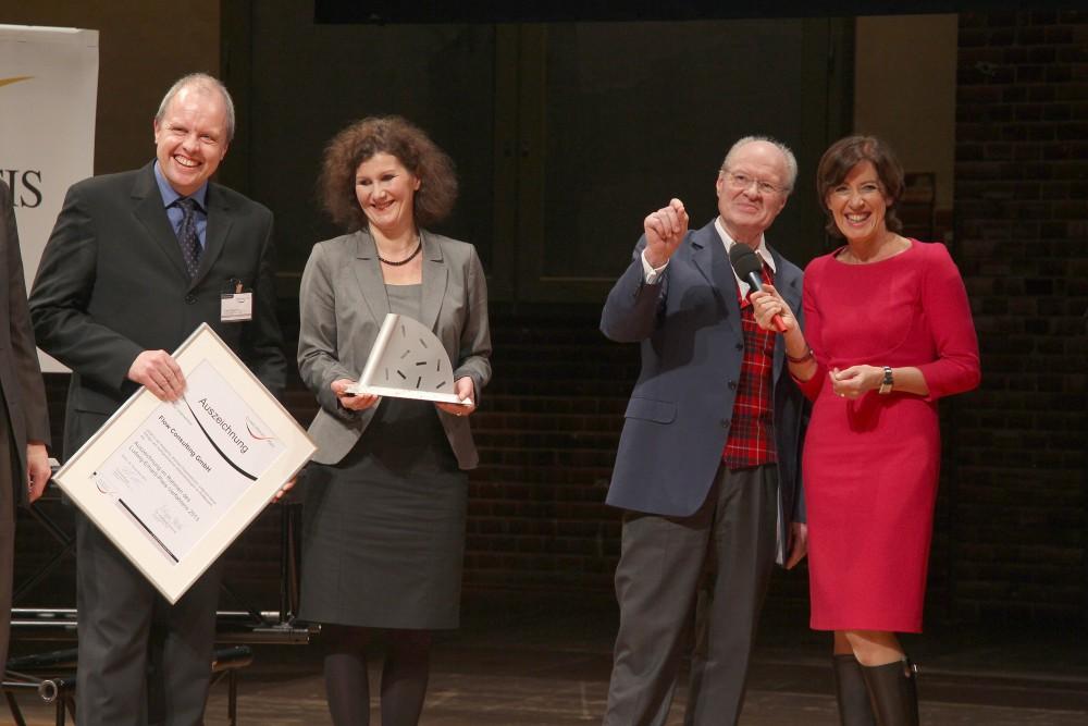 Verleihung des Ludwig-Erhard-Preises an die flow consulting gmbh