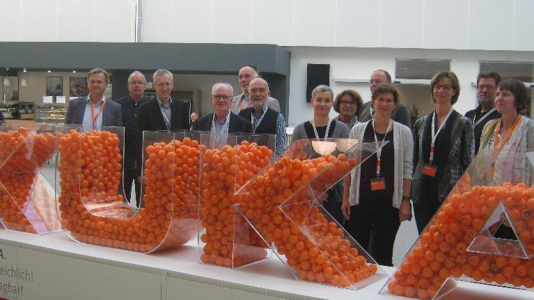 Besuch des flow Teams bei KUKA in Augsburg