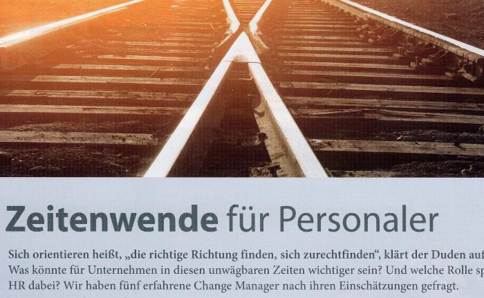 Round Table Change Management Zeitschrift Personalwirtschaft 04_2017