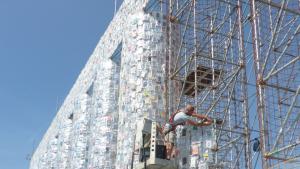 Das Parthenon auf der documenta in Kassel 2017