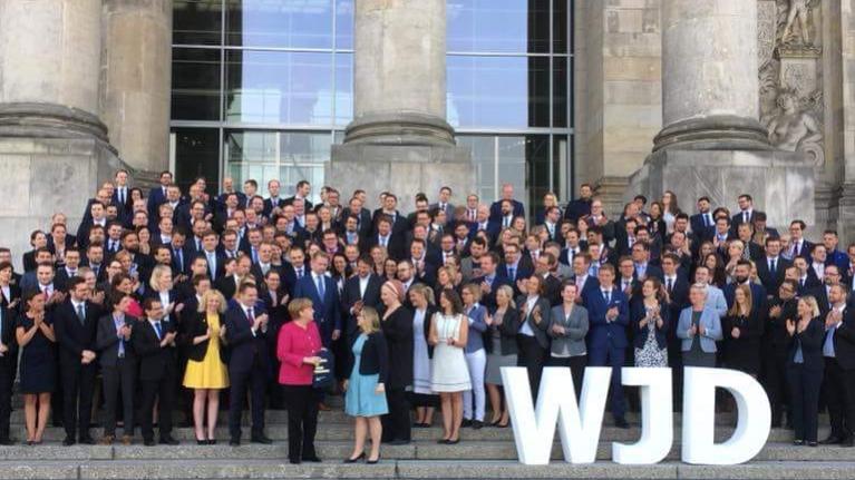Wirtschaftsjunioren im Bundestag