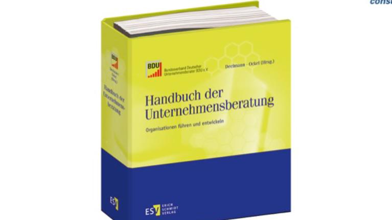 Handbuch der Unternehmensberatung mit einem Beitrag zu Change Management von flow consulting